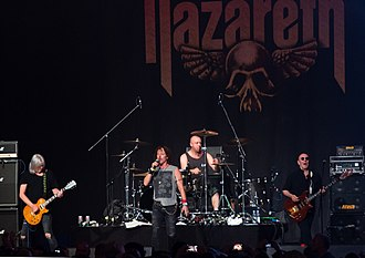 Nazareth (band) - Nazareth performing in 2018
