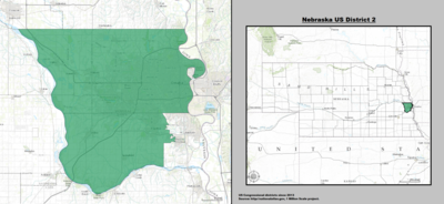 Nebraska's 2nd congressional district - since January 3, 2013.