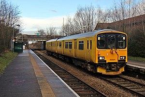 British Rail Class 950 - 950001 at Upton on 15 January 2014