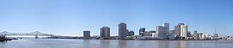 Crescent City Connection - Image: New Orleans Panoramic