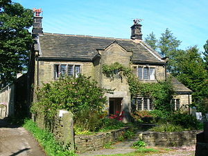 Grade II* listed buildings in Lancashire - Image: New Hall geograph.org.uk 241717