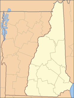 United States District Court For The District Of New Hampshire - New hampshire in us map