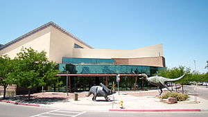 New Mexico Museum of Natural History and Science - Main entrance