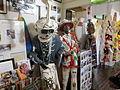 New Orleans, Fauborg Tremé, Backstreet Cultural Museum 22214 Skull N Bones.jpg