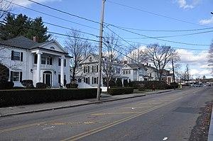 Newtonville, Massachusetts - Image: Newton MA Walnut Street Newtonville