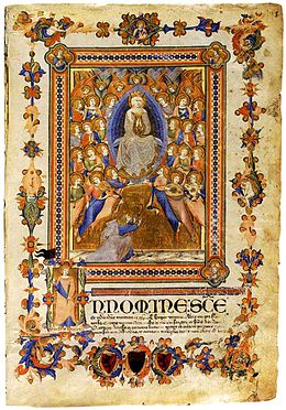 Niccolo di ser Sozzo. Virgin of Assumption.1336-38 Archivo di stato, Siena.jpg