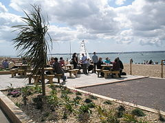Nice place for a drink at Stokes Bay - geograph.org.uk - 1425510.jpg