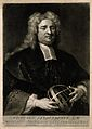 Nicholas Saunderson (Sanderson). Mezzotint by G. White after Wellcome V0005222.jpg