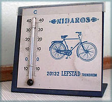Nidaros bicykle commercial artifact.JPG