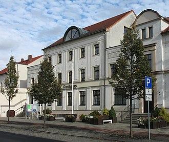 Niesky - Image: Niesky town hall
