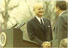 Nihat Erim shaking hands