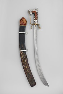 Nimcha Type of sabre from North Africa