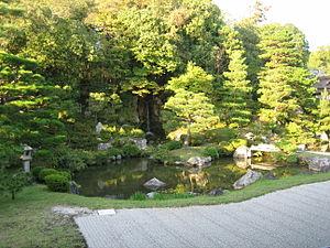Emperor Uda - A garden at Ninnaji