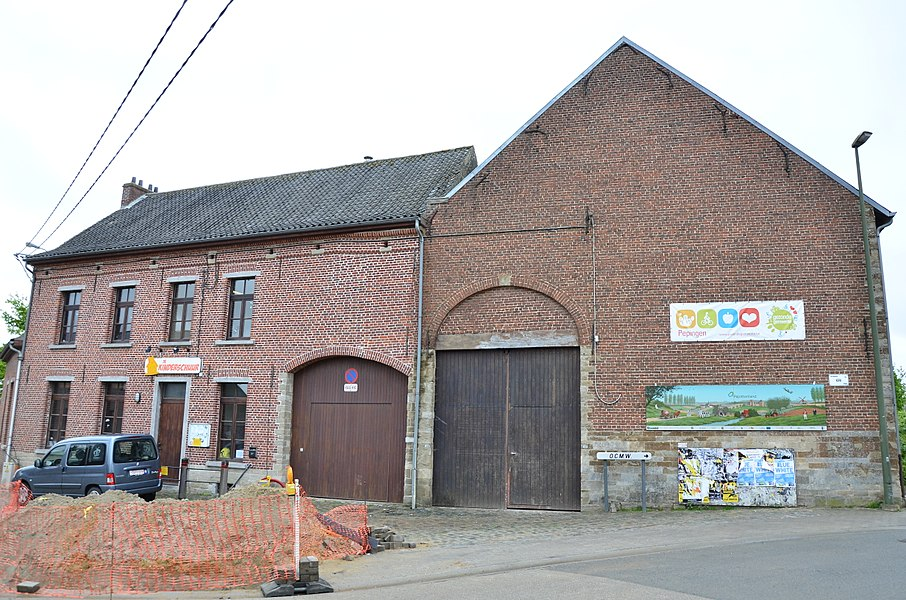 Godsgasthuis Van der Stokken, gesloten hoeve