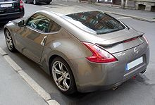 nissan 370z coupe (europe