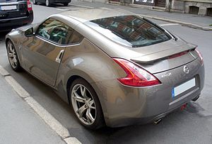 Nissan 370Z - Nissan 370Z coupe (Europe; pre-facelift)