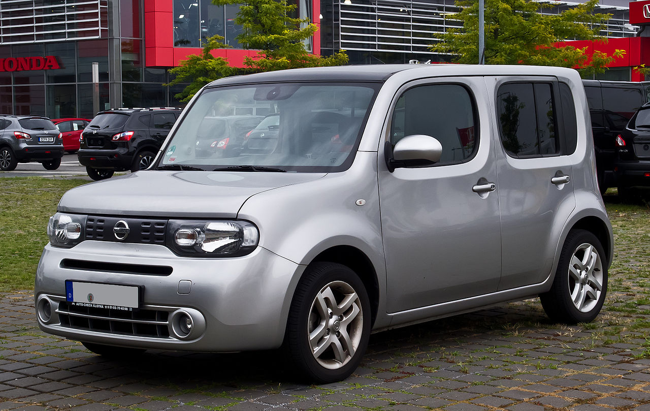 File:Nissan Cube (Z12) – Frontansicht, 25. August 2013 ...