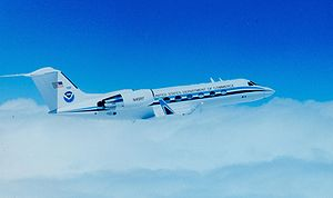 NOAA Hurricane Hunters - NOAA's Gulfstream IV-SP