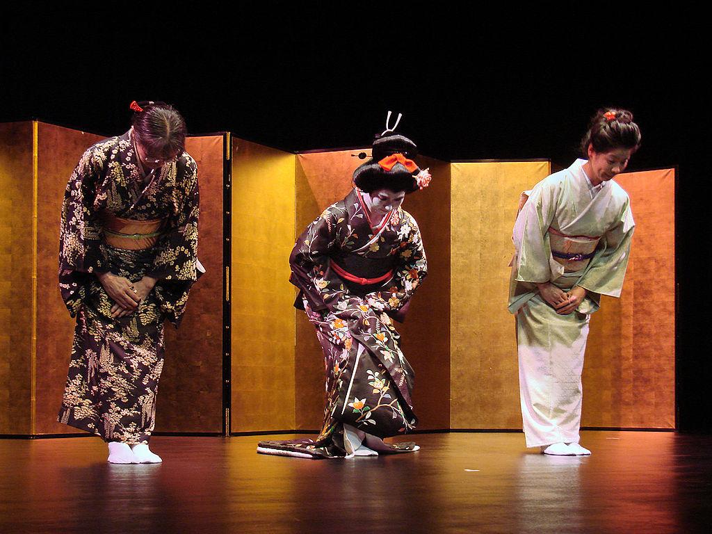 Nobuko Matsumiya, Eiko Hayashi, Fumie Hihara (musée Guimet)