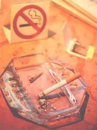 Smoking in Albania - Image: Non smoking