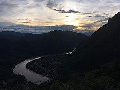 Nong Khiaw at sunset.jpg