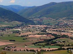 Landscape of Sabina at Norcia.