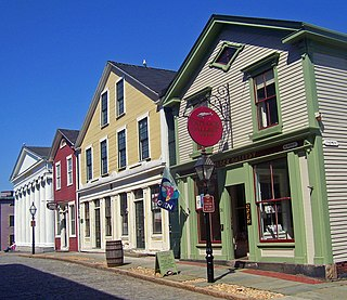 New Bedford Historic District United States historic place