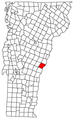 Located in Windsor County, Vermont