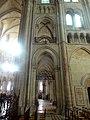 Noyon (60), cathédrale Notre-Dame, croisillon sud, 1ère travée, vue vers l'est 2.jpg