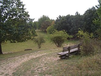 Feldberg Lake District Nature Park - Dry biotope and footpath with numerous viewing points