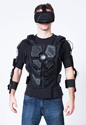 Haptic suit - NullSpace VR Mark 2 Suit