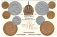 Numismatic post-card with contemporary coins - Austria-Hungary 02.png