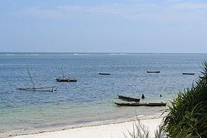 Nyali Beach from the Reef Hotel during high tide in Mombasa, Kenya.jpg