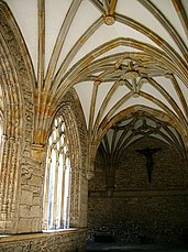Interior del claustro