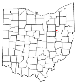 Location of Brewster, Ohio