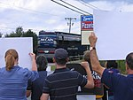 OH Union Members Protest McCain-Palin Visit in Youngstown (2868747752).jpg