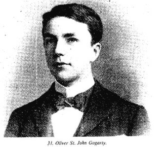 Oliver St. John Gogarty - Gogarty in 1897