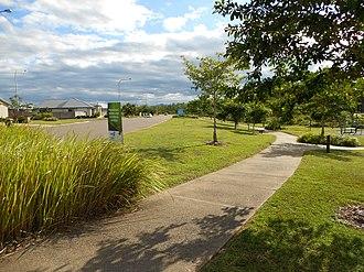 Deeragun, Queensland - Modern housing development in Deeragun with a walkway along Saunders Creek