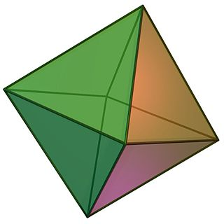 Octahedron Polyhedron with 8 faces
