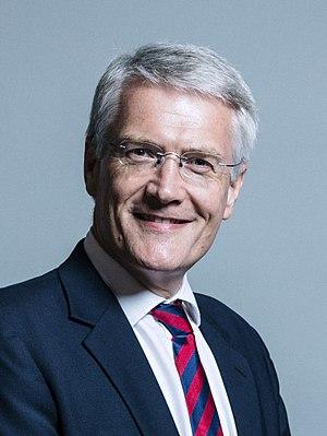 Andrew Jones (British politician) - Image: Official portrait of Andrew Jones crop 2