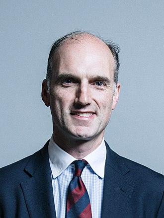 Aldershot (UK Parliament constituency) - Image: Official portrait of Leo Docherty crop 2