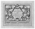 Ohio State University E. E. White bookplate.png