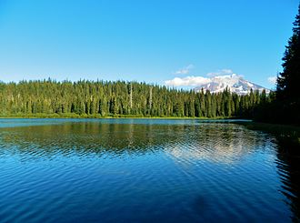 Gifford Pinchot National Forest - Mount Adams above Olallie Lake