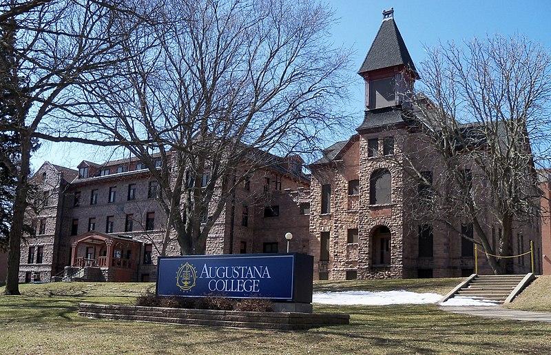 File:Old Main & East Hall Augustana 1.jpg