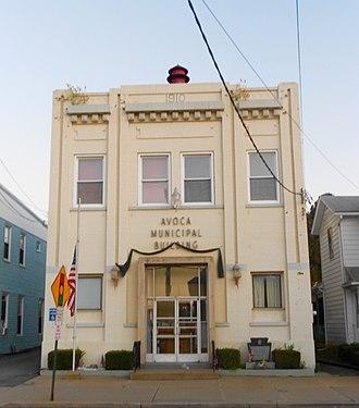 Avoca, Pennsylvania - The 1910 Municipal Building