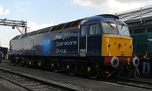 UK Rail Leasing - Rail Operations Group Class 47