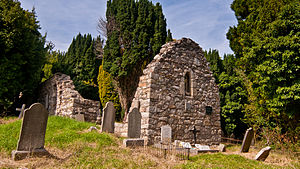 Carrickgollogan - Rathmichael old church