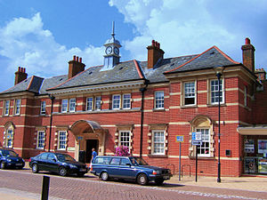 Eastleigh - The old town hall (now called 'The Point')