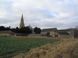 Braceborough human settlement in United Kingdom