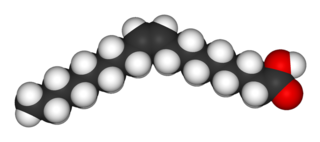 Oleic acid monounsaturated omega-9 fatty acid, abbreviated with a lipid number of 18:1 cis-9